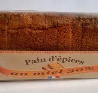 Pain d'épices 30 % miel 250g